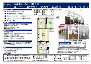 s-道灌山リハイム210号室_01