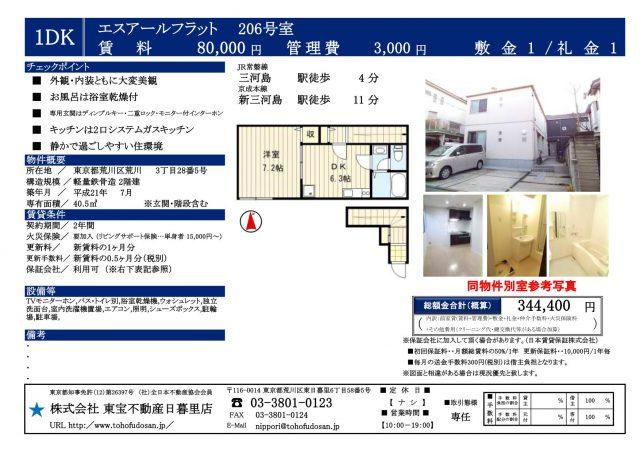 エスアールフラット206号室(9下)_01