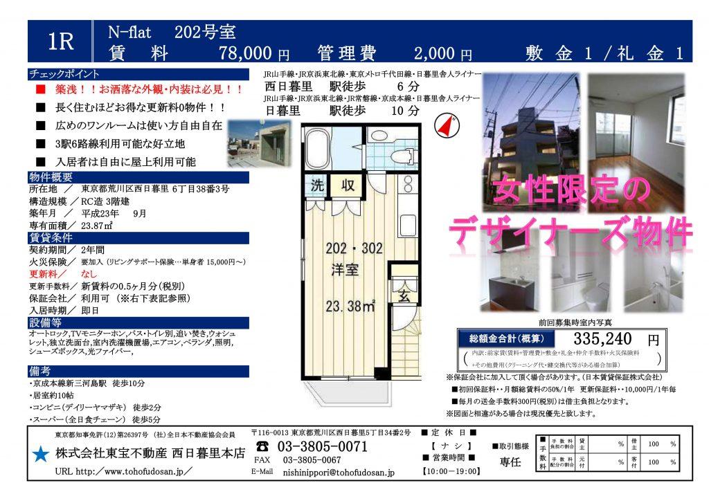 N-flat202号室_01