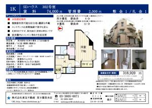 SDハウス302号室_01